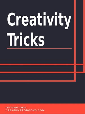 cover image of Creativity Tricks